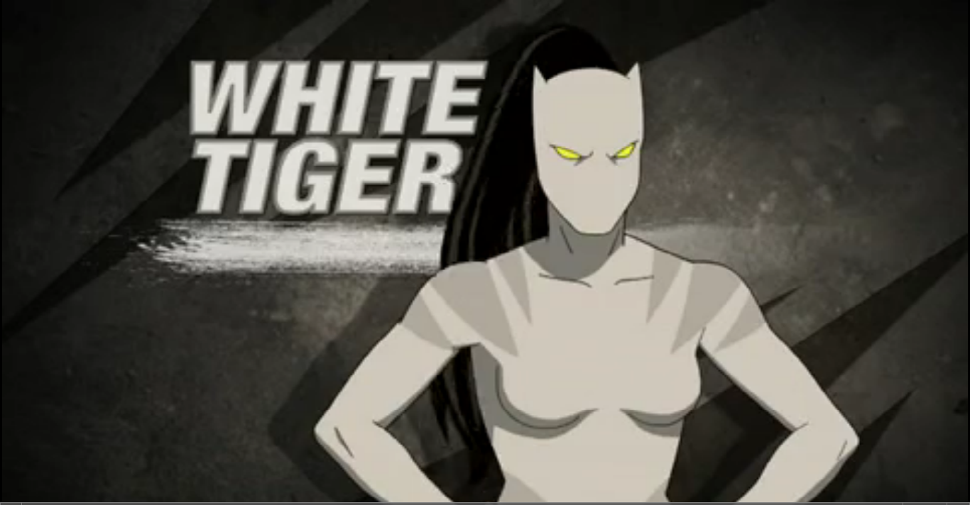 from Conor white tiger spiderman nude