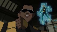 Power Man's reaction to Captain America