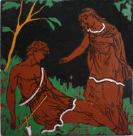 Venus & Adonis - J Moyr Smith