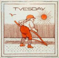 Tuesday 22