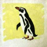 Penguin Dunsmore Tiles Polly Brace c1930 Minton Blank