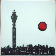 1964 KENNETH CLARK TILE DESIGNED BY ANN WYNN REEVES ON HR JOHNSON BLANK