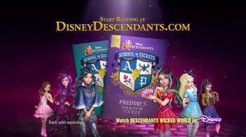 """Freddie's Shadow Cards"" A Descendants Novel Disney Descendants"