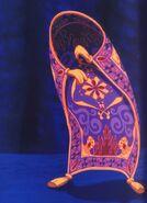 Aladdin cartoon magic carpet
