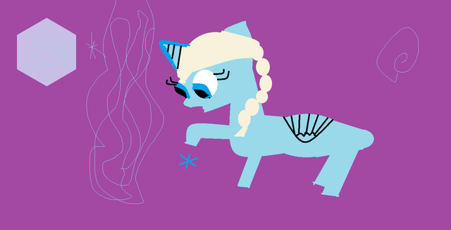 File:Elsa as a pony .png