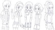 Dork diaries anime style by sonicfreak25-d4cp9ke