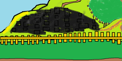 Wikia Island Destroyed Town