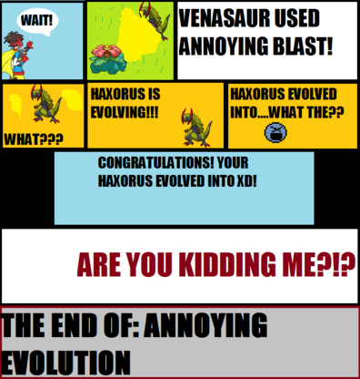 Annoying Evolution
