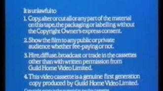 Guild Home Video Ident