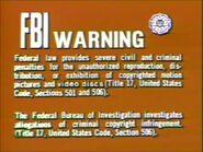 20th Century FOX FBI Warning Screen 1d