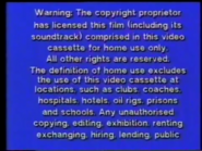Abbey Home Entertainment 1997 Warning Screen (1)