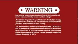 KaBoom! Entertainment Inc. Warning Screen (2013-)