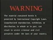 Simitar Entertainment Warning Screen Early Variant (1990-2000)