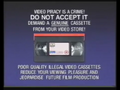 Columbia TriStar Home Video Piracy Warning (1993)