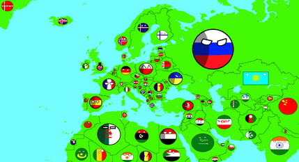 Future of Europe S1 or Map of Europe polandball