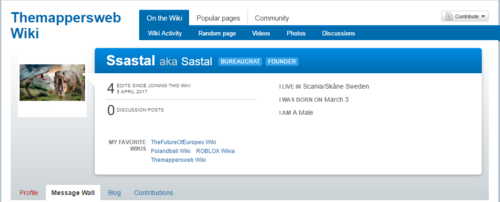 Ssastal's Wikia