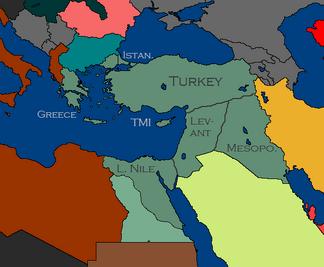 Regions turkey 1962