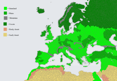 Map Game 2.0 Climate Map