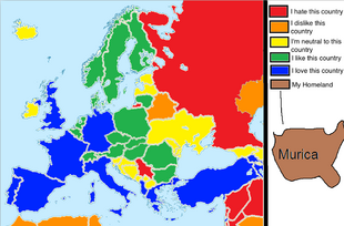 What I Like, hate, neutral to on Europe 2