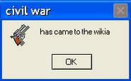 Civil war error