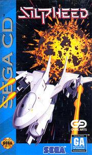 Silpheed Sega CD Box Art