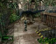 Dino Crisis Gameplay