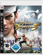 Virtua Fighter 5 PS3 Box Art