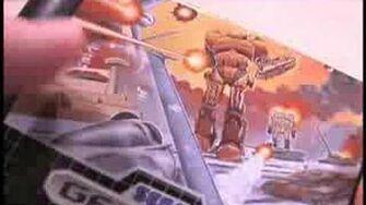 Classic Game Room HD - HERZOG ZWEI on Sega Genesis Part 1
