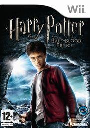 Harry Potter & The Half-Blood Prince Wii Box Art