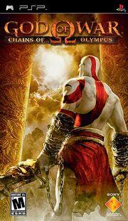 God Of War - Chains Of Olympus Box Art