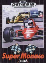 Super Monaco GP Genesis Box Art