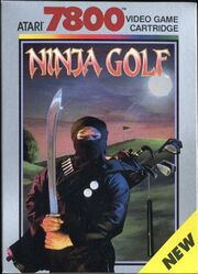 Ninja Golf Box Art