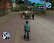 Grand Theft Auto Vice City PS2 Gameplay