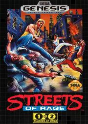 Streets of rage case
