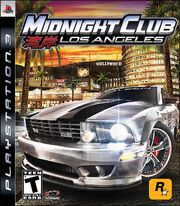 Midnight Club LA Box Art