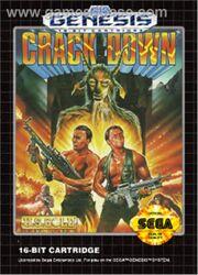 Crack Down Genesis Box Art
