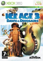 Ice Age 3 Dawn Of The Dinosaurs 360 Box Art