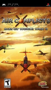Air Conflicts - Aces of World War II Box Art