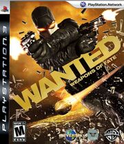 Wanted Weapons Of Fate Box Art