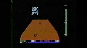 Classic Game Room HD JUPITER LANDER for Commodore 64 review