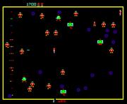 Robotron 2084 PS1 Gameplay
