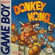 Donkey Kong Game Boy Box Art