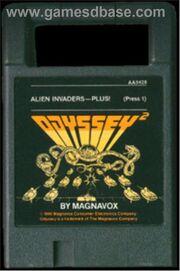 Alien Invaders - Plus! Cart