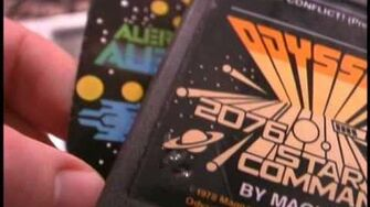 Classic Game Room HD - COSMIC CONFLICT! for Odyssey 2