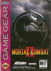 Mortal Kombat II GG Box Art