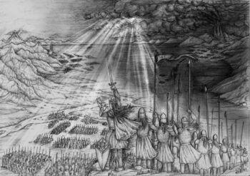 Battle of Unnumebered Tears by lomehir