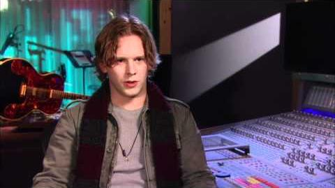 The Glee Project! Maxfield Interview!