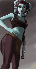 Aayla Secura by raikoh14