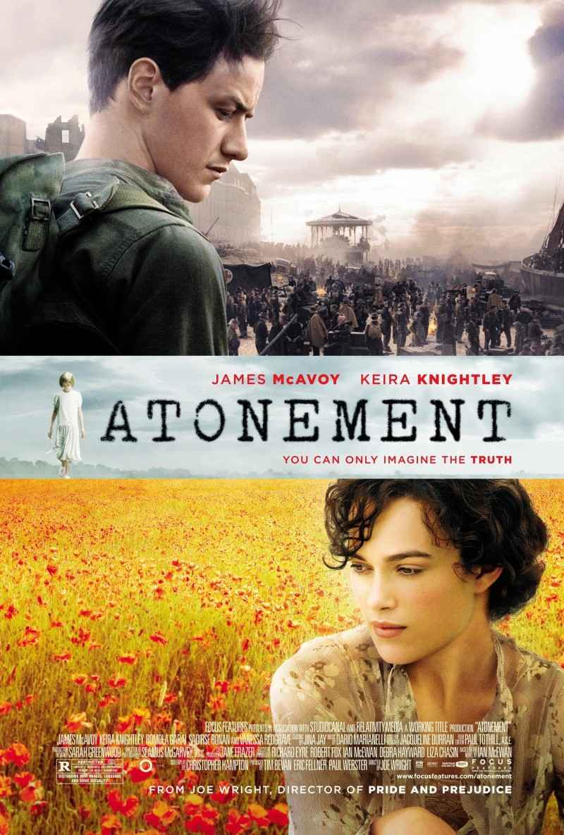 Image result for movie poster atonement