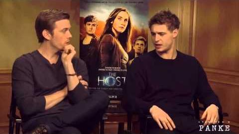 Max Irons & Jake Abel Good Life Best of interviews part 1